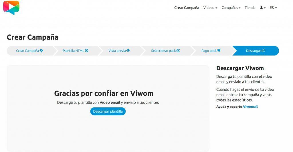 Descarga tu plantilla HTML